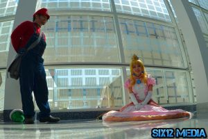 Mario Finds His Princess ^_^ by GothLoliChanKaru
