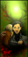 Hannibal - On my shoulder by FuriarossaAndMimma