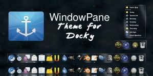 WindowPane Theme for Docky by krTsukasa