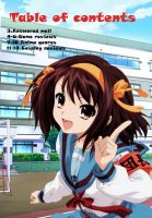 Table Of Contents anime magazine by fullmetalfan2