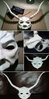 The Making of Jareth's Mask p1 by Katyok