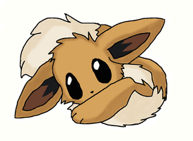cute eevee by evilfliqpy
