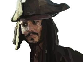 MS-Paint- Jack Sparrow WIP 4 by mel-lyks-cereal