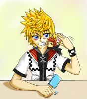 Roxas' 'little' problem by sasameyuki