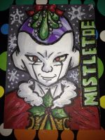 Frieza Holiday Artist Trading Card by Karrit