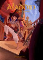 Aladdin Bookcover by anacathie