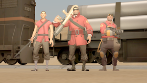 [SFM] - The RED Epics - Line-up by BoltandVulpix