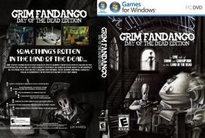Grim Fandango: Updated Artwork by Octo-moose