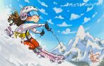Spring Skiing by rue789