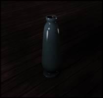 Lonely Vase by Tzolkin
