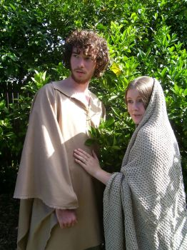 Mary and Joseph 12 by SophStock