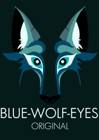 Blue-Wolf-Eyes original by Blue-Wolf-Eyes