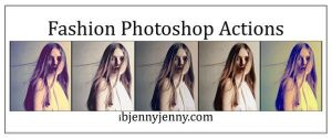 Free Fashion Photoshop Actions by ibjennyjenny