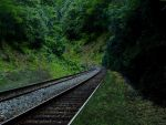 Premade Railroad by DreamChaseStock