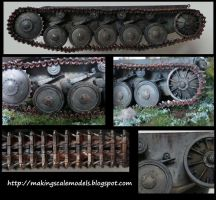 How to paint tracks by Makingscalemodels