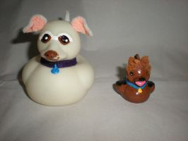 Rubber Duck Puppies by Oriana-X-Myst