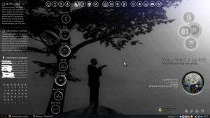 slender man (circles) (current desktop theme) by fulllfrontal