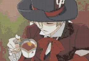 Mad Hatter Tamaki Mosaic by smallrinilady