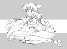 SAILOR VENUS CAPTIVE by GREAT-DUDE