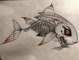Great Bearded Egyptian Rabbit Koi Fish by krutch99