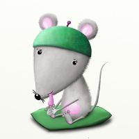 Baby mouse by rozalek