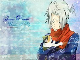 Gokudera Hayato - Snow Dream by crying-ophelia