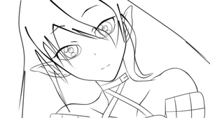 Rena Lineart Complete!!! by MMDCousins