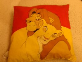 The Lion King - Pillow Back by Icedragon300