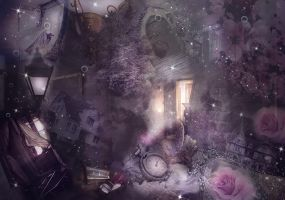 Magical Premade Background by VaLeNtInE-DeViAnT
