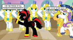 Shadow: Prince Of All Ponies! by CyrilSmith