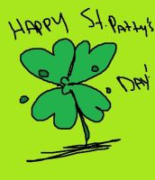 Happy St. Pat's Day~!! Yey. by PeachyBunn