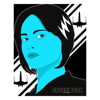 Jyn Erso - Rogue One by Left5