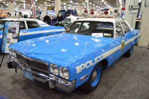 1973 N.Y.P.D. Highway Patrol Plymouth Fury I (III) by Brooklyn47