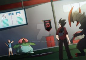 Pokemon Battle - Afterschool Showdown by Juno-Uno