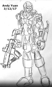 Misc Soldier 6 by c-force
