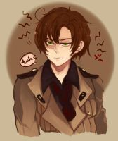 Angry Romano by Mishhe-KHT