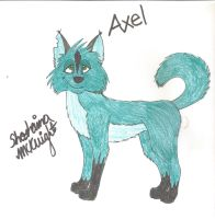 Axel Wolf by shaina773