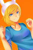 Fionna the Human by sentaidash