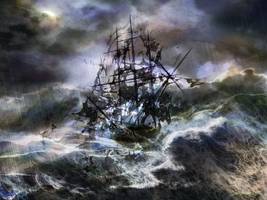 The Rage of Poseidon III by raysheaf