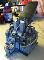 Lego iPhone charging station by Agent-Minnesota