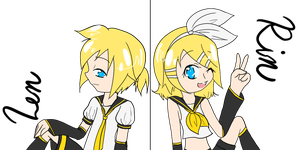 Happy Birthday, Kagamine by AmyFawkes