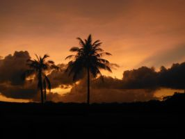 Last Sunset in Guam by kolishtikovich