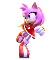 Amy Rose by Fentonxd