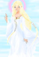 Goddess Hylia Second Version by GuluzPato