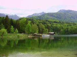 Jezero Bohinj by animatorV