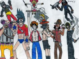 Team Fortress 2 + One piece? by Arelathh
