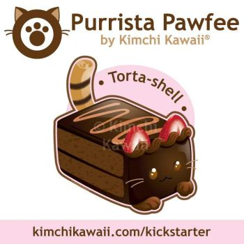 Cute Kitty Chocolate Cake by kimchikawaii