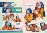 +GeekandGirly+ Comic pages Lvl by Nephyla