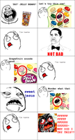Jelly beans rage by jojo-shakur