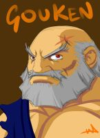 Gouken Quickie by WayneAlright